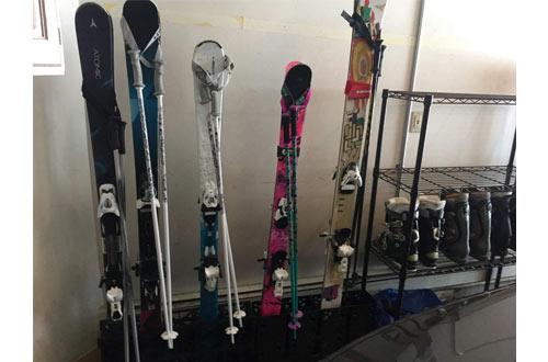 StoreYourBoard Ski Storage Rack