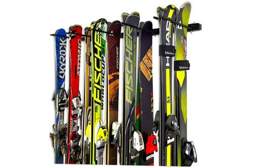 StoreYourBoard Omni Ski and Snowboard Wall Storage Rack