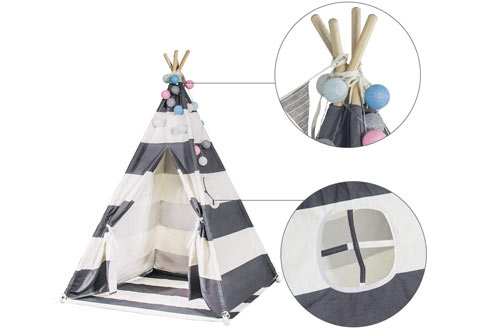 Touch-Rich 6FT Durable Teepee Kids