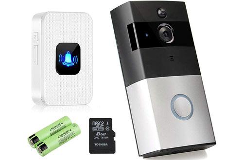EXOX WiFi Smart 720P HD Wireless Video Doorbell