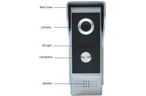 AMOCAM Wired Video Doorbell Phone