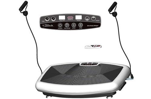 Thin Full Body Vibration Platform Fitness Vibration Plate Massager Machine