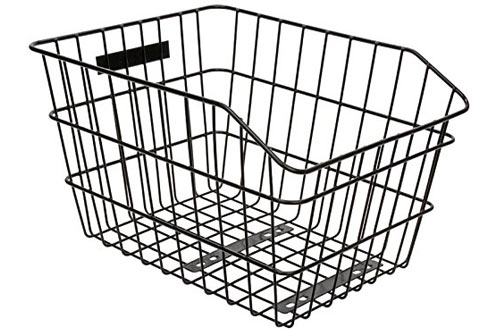 SUNLITE Rack Top Wire Basket for Bike