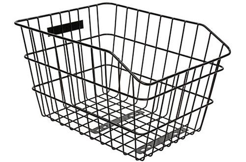 SUNLITE Rack Top Wire Basket for Bike
