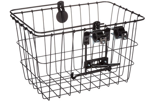 Wald 3133 Front Quick Release Bicycle Basket with Bolt