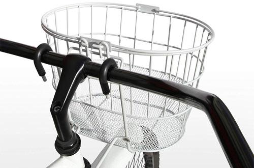 Colorbasket 02249 Mesh Bottom Lift-Off Bike Basket, with Handles