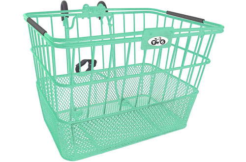 Treasure Gifts Mesh Bottom Lift-Off Basket w/Bracket