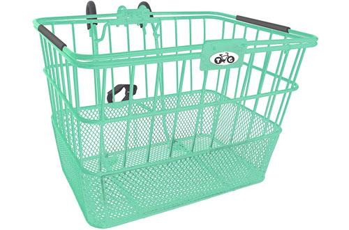 Treasure Gifts Mesh Bottom Lift-Off Basket w/Bracket