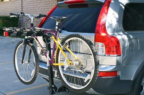 4-Bike Deluxe Hitch Mount Rack