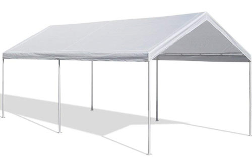 Caravan White Canopy Domain Carport