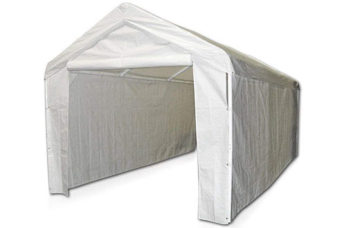 Carport Domain Caravan Enclosure Kit, with Sidewall