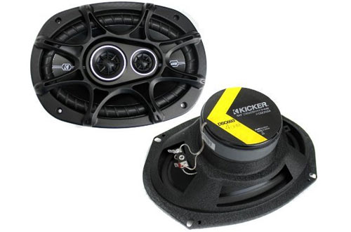 2-Way 4-Ohm Car Audio Coaxial Speakers
