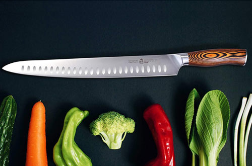 TUO Cutlery Slicing Carving Knife & Meat Knife with Handle
