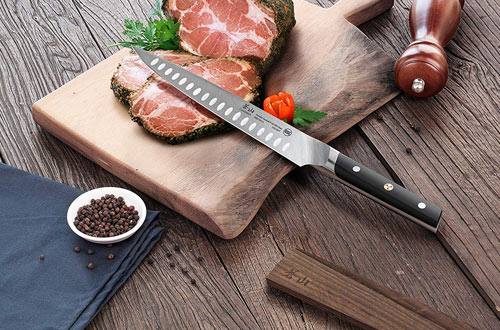 Carving Knife And Wood Sheath Set