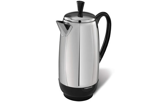 Farberware 12-Cup Percolator, Stainless Steel