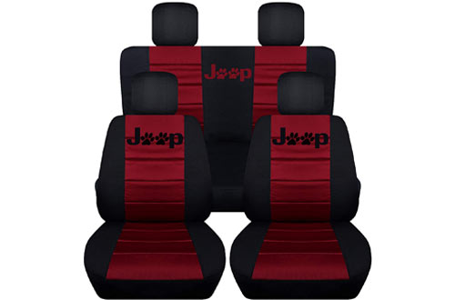Front and Rear Seat Covers for Jeep Liberty