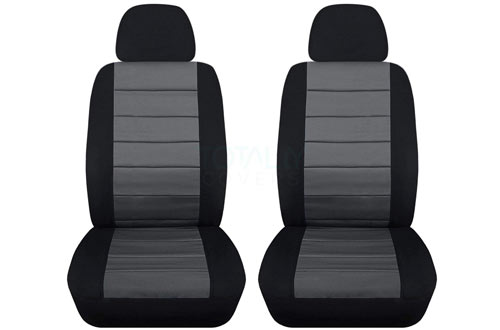Semi-custom Fit Car Seat Covers with Headrest Covers