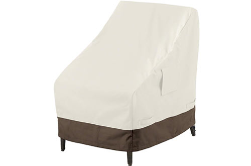 AmazonBasics High Back Dining Room Chair Cover