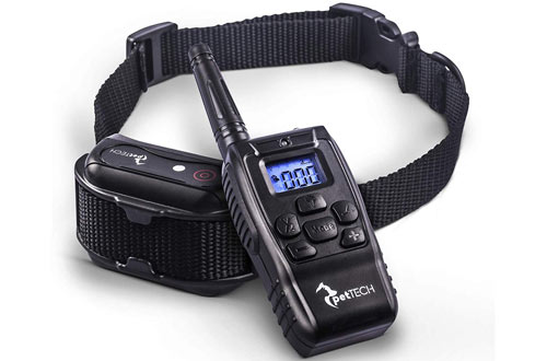 PetTech PT0Z1 Premium Dog Training Shock Collar