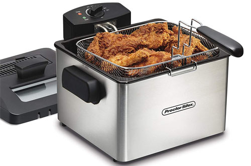 Proctor Silex 35044 Professional-Style Deep Fryer with 5 L Capacity