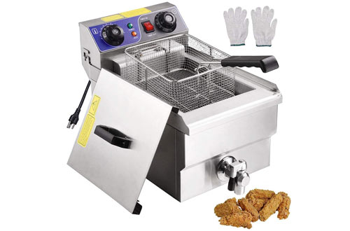 Yescom Commercial Professional Electric Deep Fryer