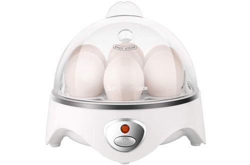 Simple TasteElectric Egg Cooker for Hard or Soft Boiled Eggs