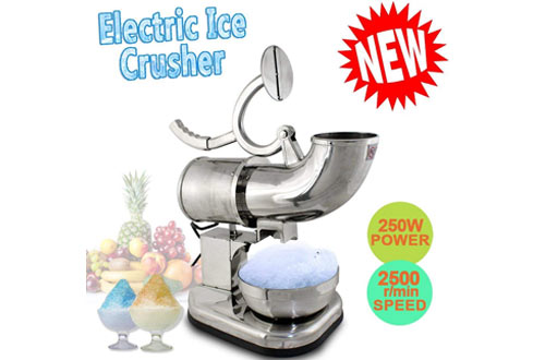 ZENY Ice Crusher Maker & Ice Shaver Snow Cone Maker Machine