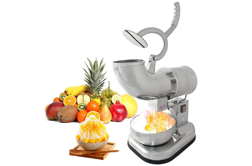 ZENY Commercial Ice Shaver & Snow Cone Shaved Ice Maker Machine
