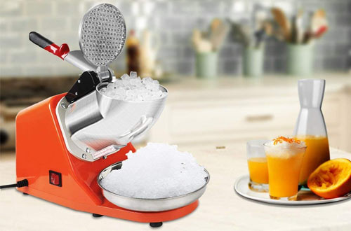 VIVOHOME Electric Ice Crusher Shaver Snow Cone Maker Machine