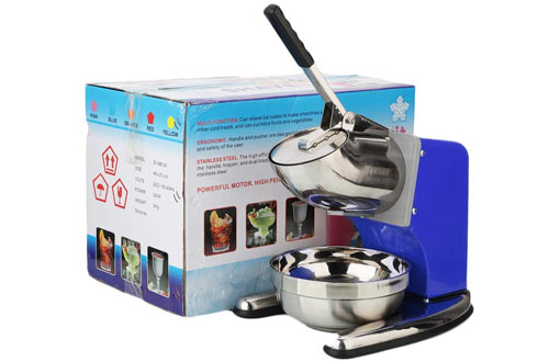 ROVSUN CommercialIce Crusher & Electric Shaved Ice Machine