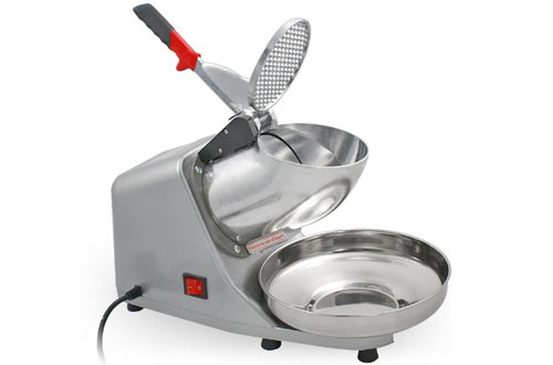 ZENY Electric Stainless Steel Shaved Ice Machine
