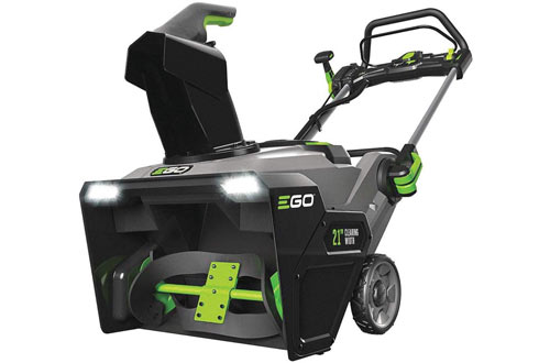 "EGO SNT2100 21"" Cordless 56-Volt Lithium-Ion Single Stage Electric Snow Blower"