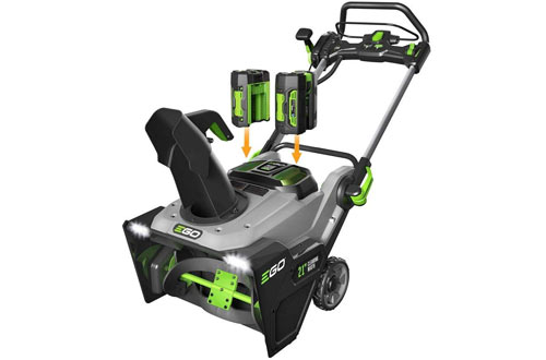 EGO Power Snow Blower with Batteries and Charger