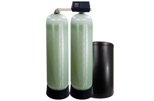 Abundant Flow Water WS-64k-91SXT 64k-91sxt Dual Tank Softener
