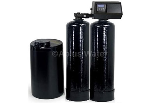 Fleck 9100 SXT Complete Twin Tank Mini Compact Water Softener System