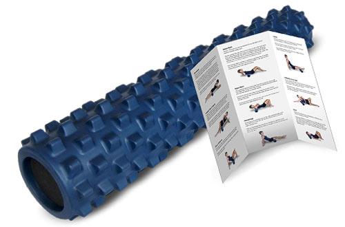 Textured Muscle Foam Roller - Relieve Sore Muscles
