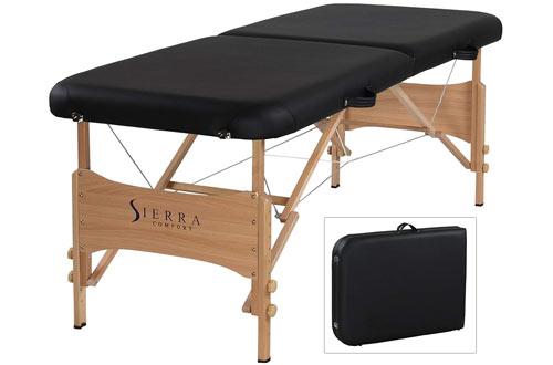 SierraComfort Basic Portable Massage Table