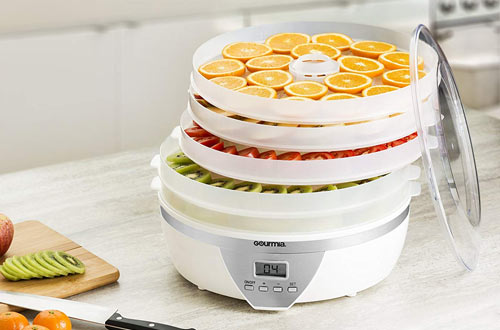 Gourmia GFD1550 Food Dehydrator - Digital Temperature Settings