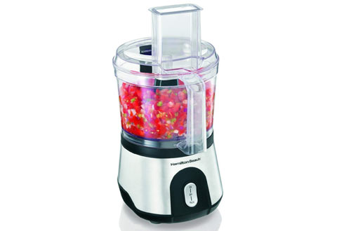 Hamilton Beach Small Food Processor with Compact Storage
