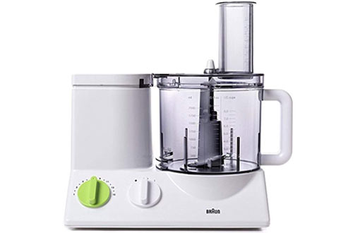 Braun FP3020 Food Processor with Ultra Quiet Powerful Motor