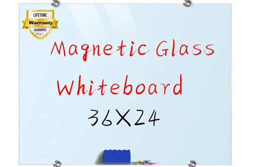 Magnetic Surface Glass White Board - Dry Erase Board