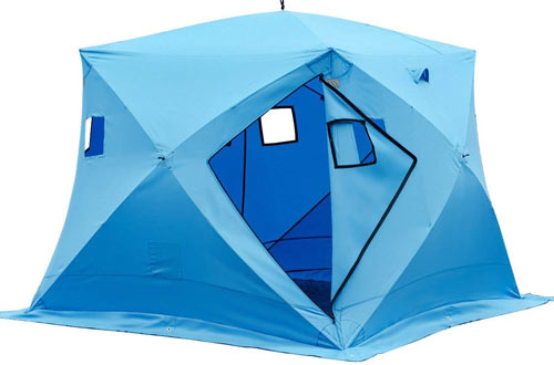 TANGKULA Pop-up Ice Shelter 4-Person