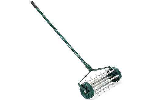Rolling Lawn Aerator for Garden Grass Soil Care