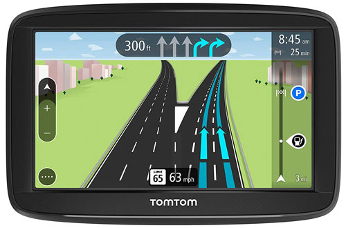 TomTom VIA 1525SE 5-Inch GPS Navigation Device with Free Lifetime Traffic & Maps