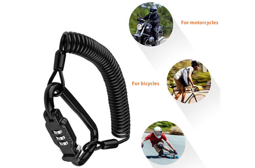 Eco-Home Helmet Lock Cable