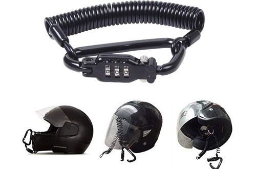 Heavy Duty Universal Combination Lock Cable Motorcycle Security