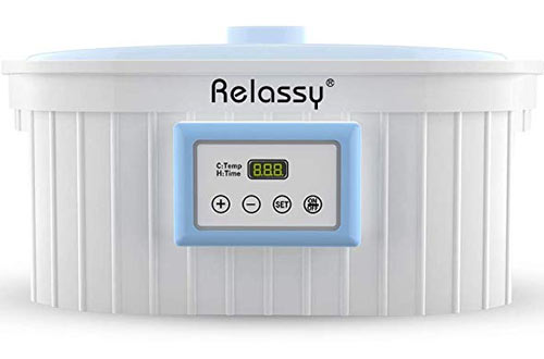 Relassy Paraffin Wax Bath - Paraffin Wax Warmer for Hands and Feet