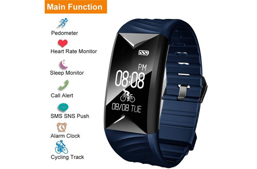 Willful Fitness Tracker, Fitness Watch Heart Rate Monitor Watch Pedometer