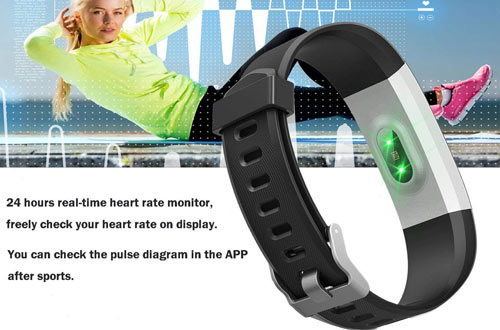 Letufit Plus Fitness Tracker + Heart Rate Monitor