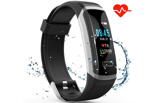 Akuti Fitness Watch with Heart Rate Monitor